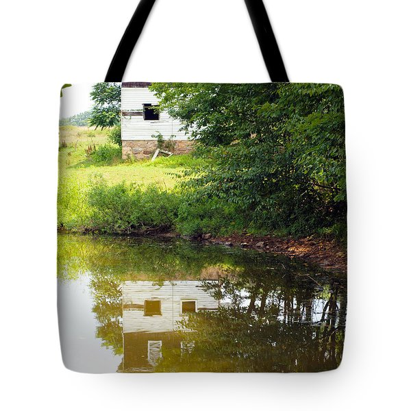 Water Reflections Tote Bag by Robert Margetts