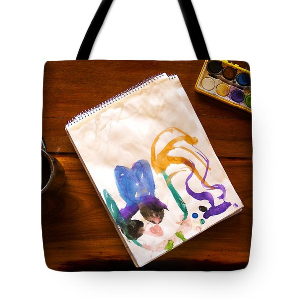 Watercolor Tote Bag by Fabrizio Troiani