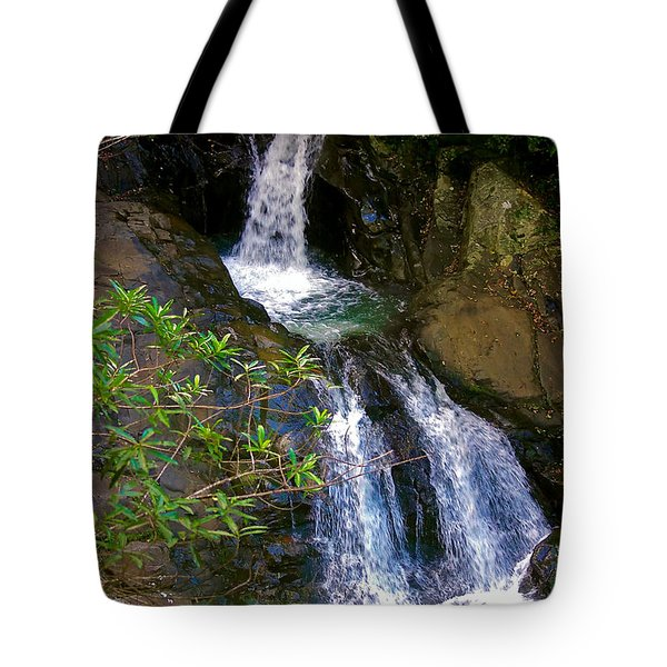 Waterfall In The Currumbin Valley Tote Bag