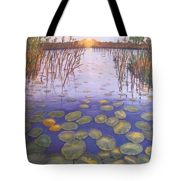 Waterlillies South Africa Tote Bag