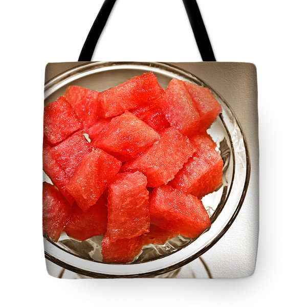 Watermelon Parfait 2 Tote Bag by Andee Design