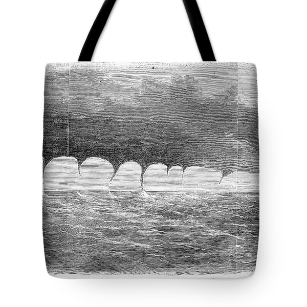 Waterspouts, 1856 Tote Bag by Granger
