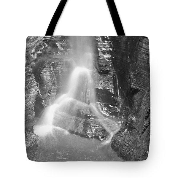 Watkins Glen Bw Tote Bag