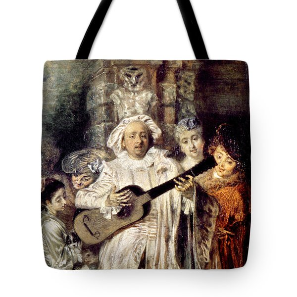 Watteau: Gilles & Family Tote Bag by Granger