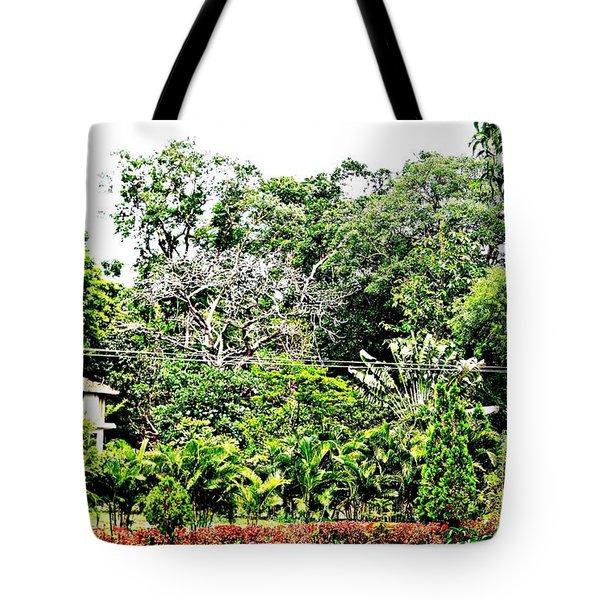 Watz Odd Here Tote Bag by Piety Dsilva