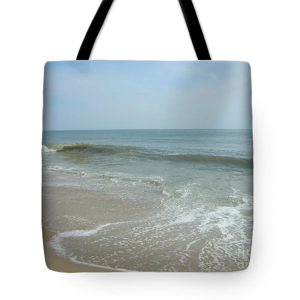 Tote Bag featuring the photograph Wave by Arlene Carmel