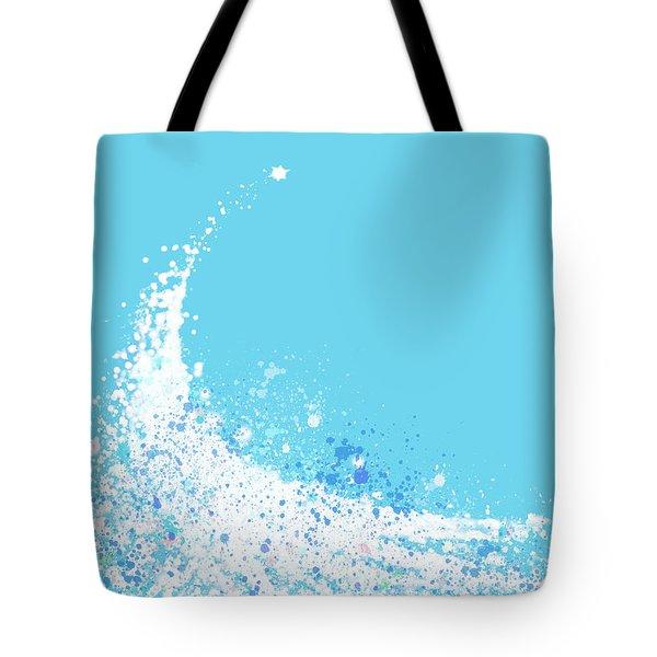 Wave Tote Bag by Setsiri Silapasuwanchai