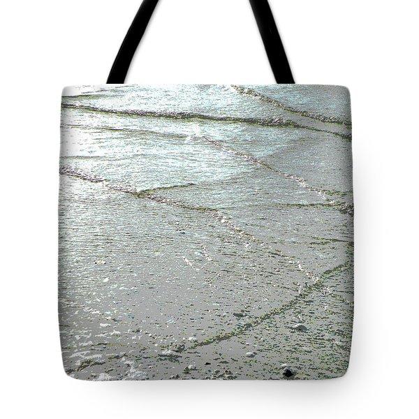 Wave Weaving Tote Bag by Joe Jake Pratt