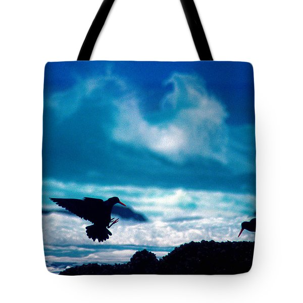 Wavedance Tote Bag