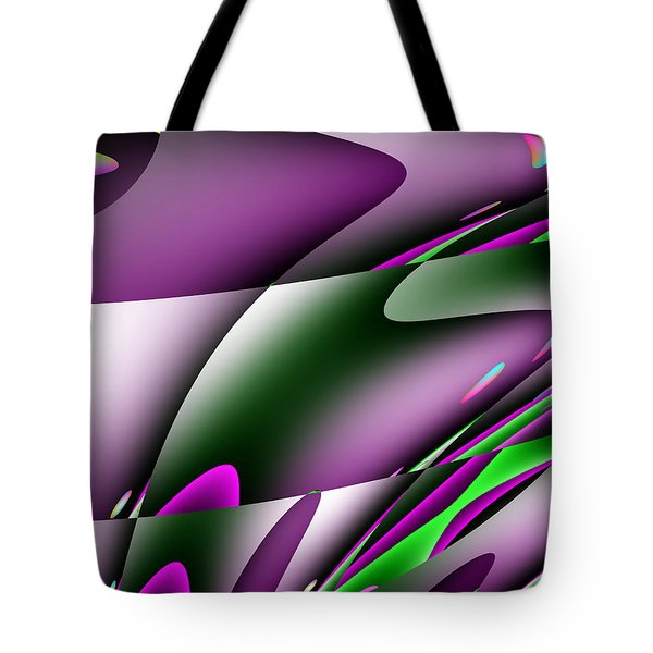 Waves  Tote Bag by Mark Moore