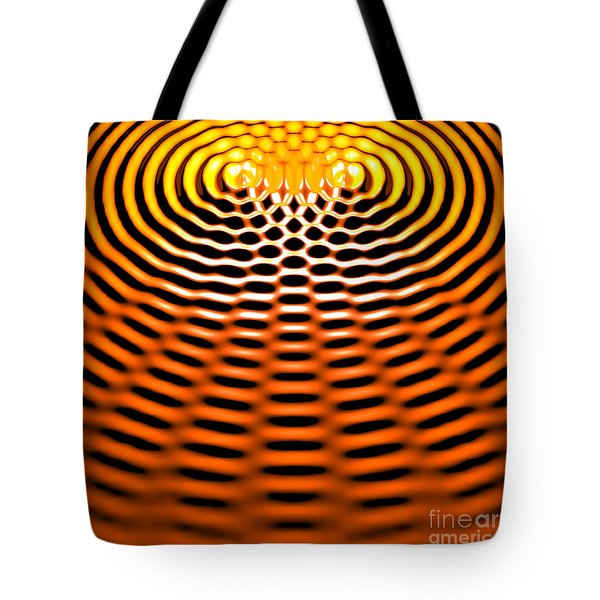 Waves Superpositioning 4 Tote Bag