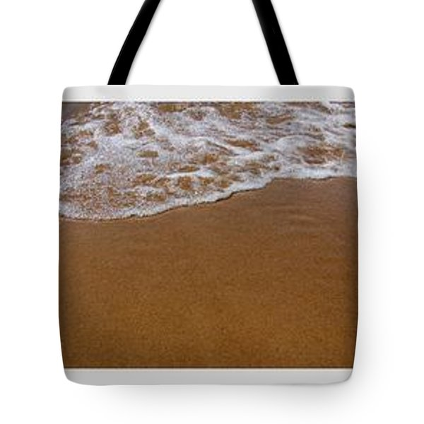 Waves Triptych Tote Bag by Michelle Calkins