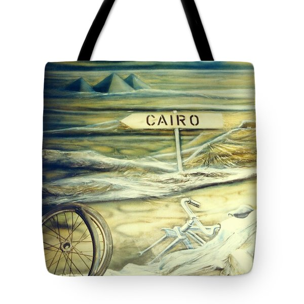 Way To Cairo Tote Bag