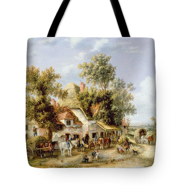Wayside Inn Tote Bag by Georgina Lara