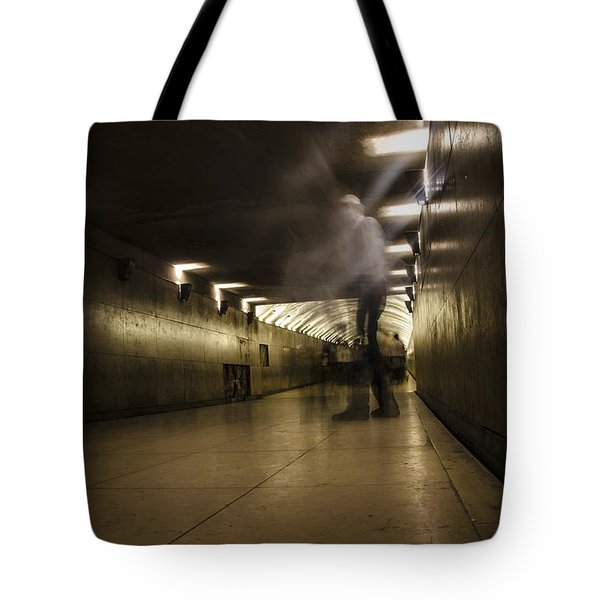 We Walk Among Them Tote Bag