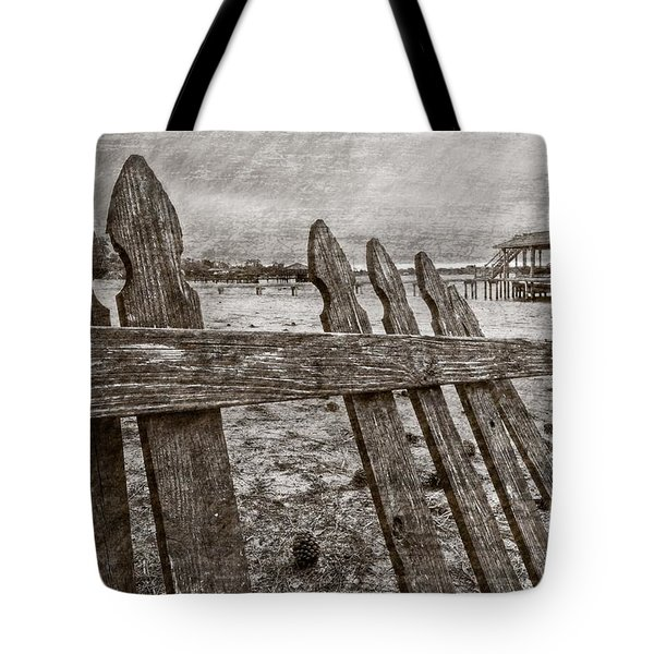 Weathered Tote Bag by Debra and Dave Vanderlaan