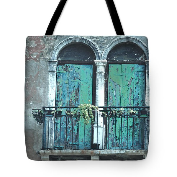 Weathered Venice Porch Tote Bag