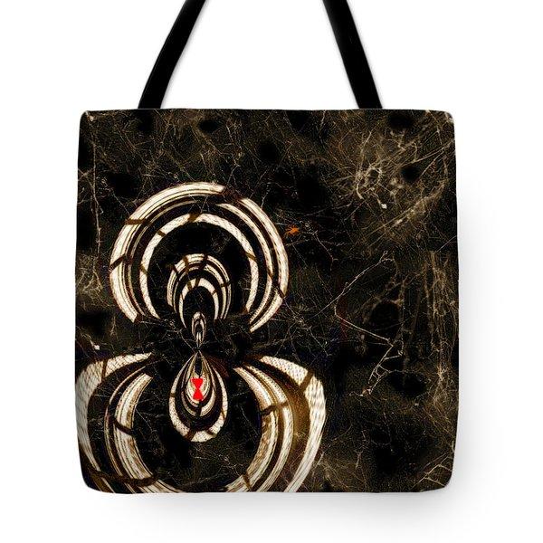 Web Mistress Tote Bag by Paula Ayers