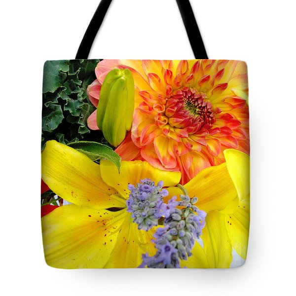Wedding Flowers Tote Bag by Rory Sagner
