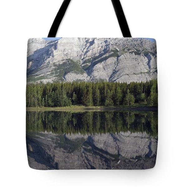 Wedge Pond, Mount Kidd, Kananskis Tote Bag by Michael Interisano
