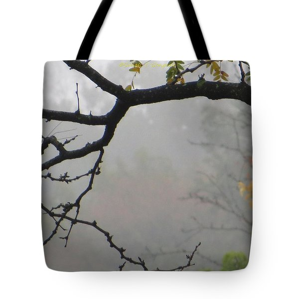 Wednesday Mist Tote Bag by Sonali Gangane