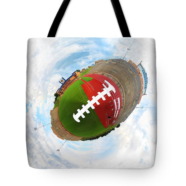 Wee Football Tote Bag by Nikki Marie Smith