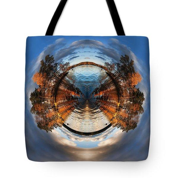Wee Lake Vuoksa Twin Islands Tote Bag by Nikki Marie Smith