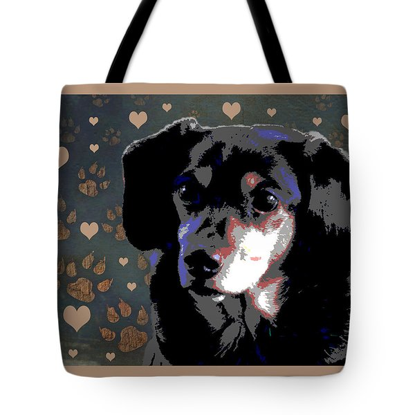Wee With Love Tote Bag by One Rude Dawg Orcutt