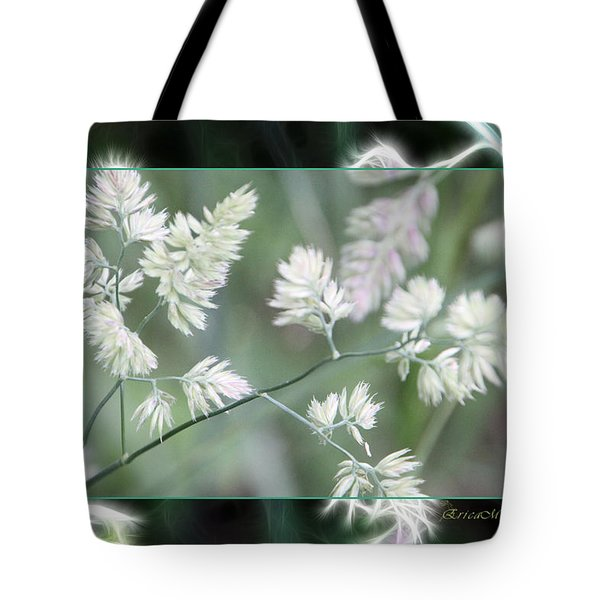 Tote Bag featuring the photograph Weeds by EricaMaxine  Price