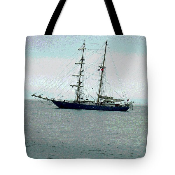 Weighing Anchor II Tote Bag by Suzanne Gaff