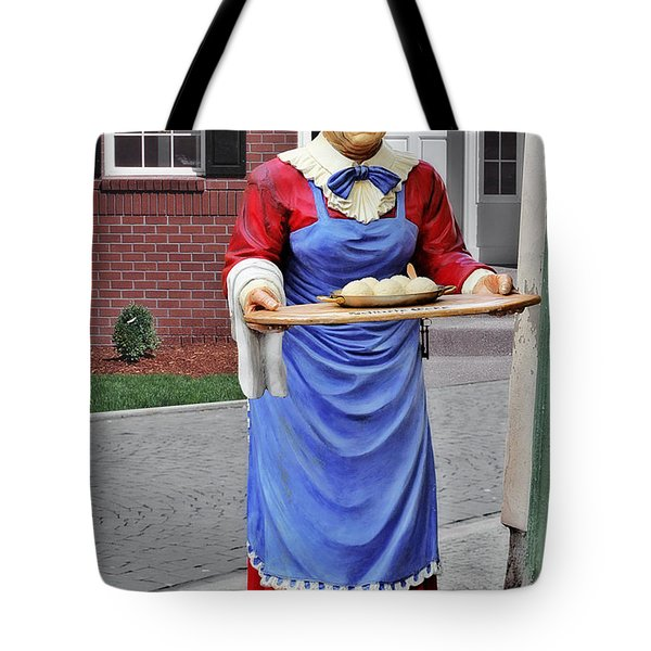Weimarer Kloss-marie  - Thuringia Dumplings - A Famous Classic Tote Bag by Christine Till