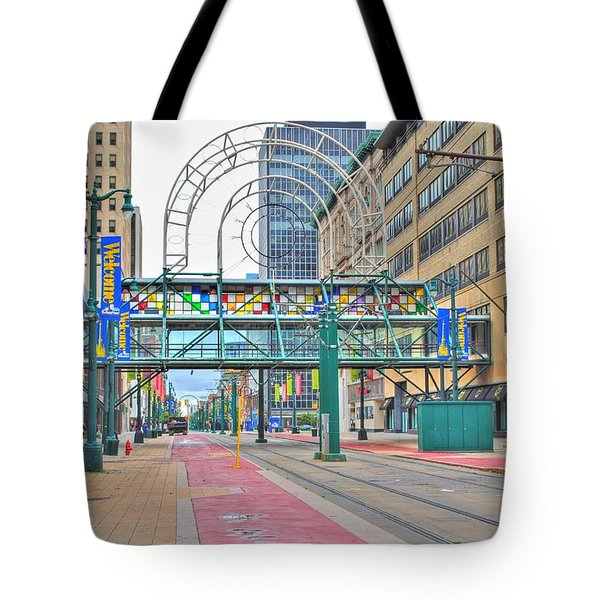 Tote Bag featuring the photograph Welcome No 2 by Michael Frank Jr