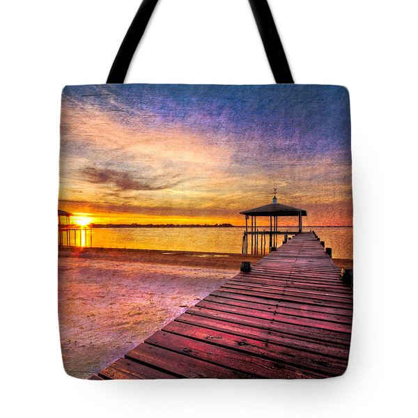 Welcome The Morning Tote Bag by Debra and Dave Vanderlaan