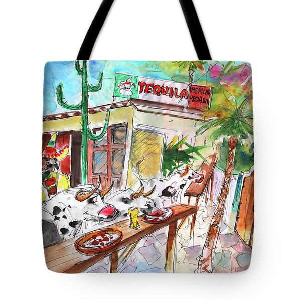 Welcome To Cyprus 03 Tote Bag by Miki De Goodaboom
