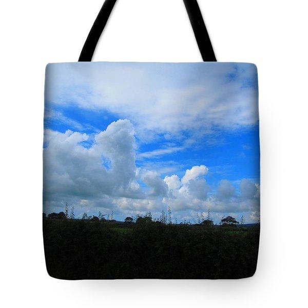 Welsh Sky Tote Bag