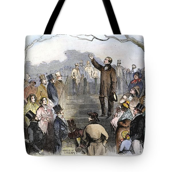 Wendell Phillips Tote Bag by Granger