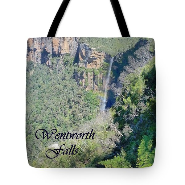 Wentworth Falls Tote Bag by Carla Parris