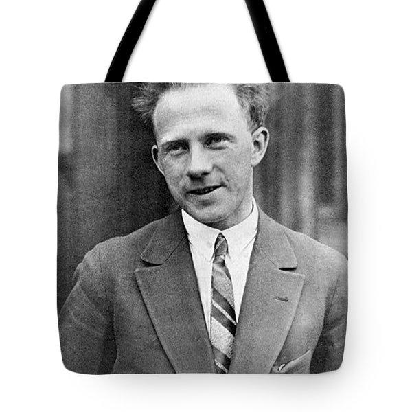 Werner Heisenberg, German Theoretical Tote Bag