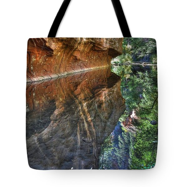 Tote Bag featuring the photograph West Fork Reflection by Tam Ryan