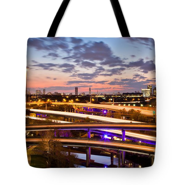 West Houston Around Dowtown Tote Bag