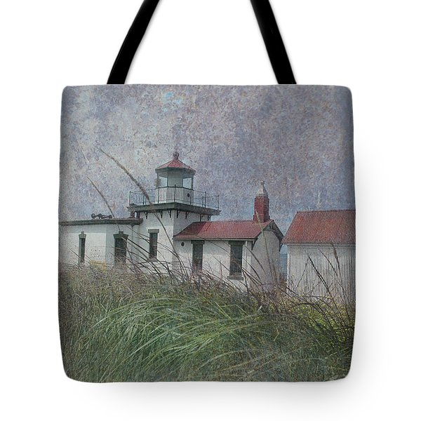 West Point Lighthouse - Seattle Tote Bag by Jeff Burgess