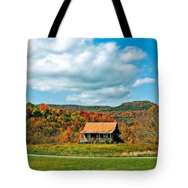 West Virginia Homestead Tote Bag by Steve Harrington