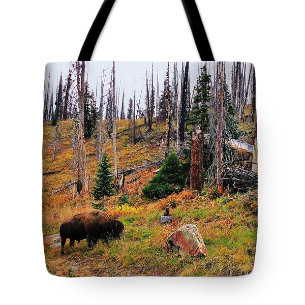 Western Icon Tote Bag by Benjamin Yeager
