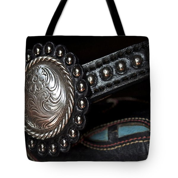 Western Pizzaz Tote Bag by Gwyn Newcombe