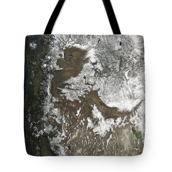 Western United States Tote Bag by Stocktrek Images