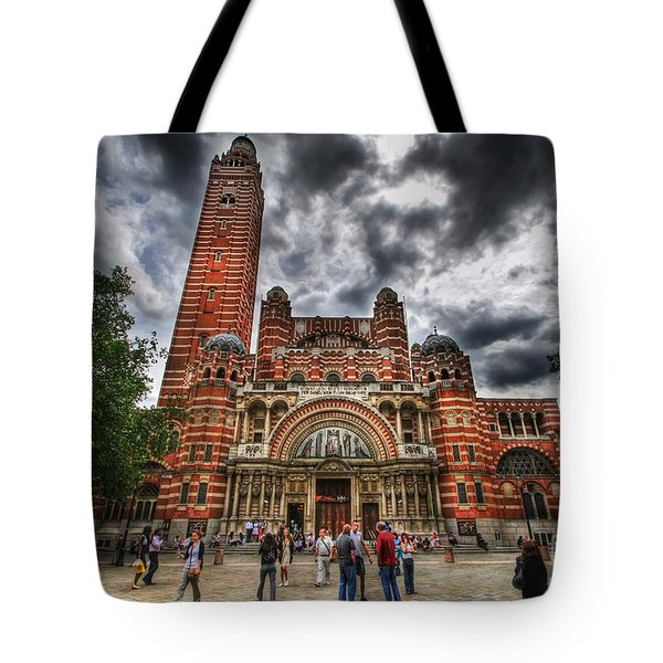 Westminster Cathedral Tote Bag by Yhun Suarez