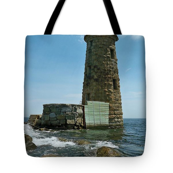Whaleback Light Tote Bag by Rick Frost
