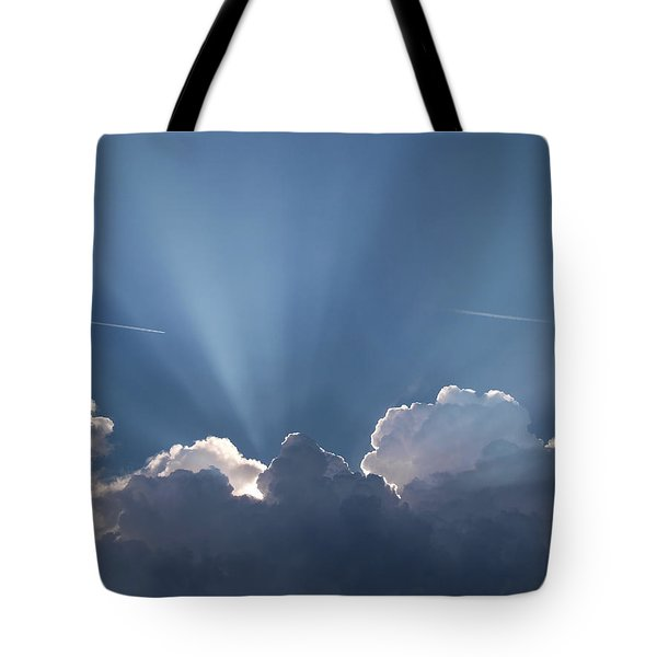 What A Light Show Tote Bag
