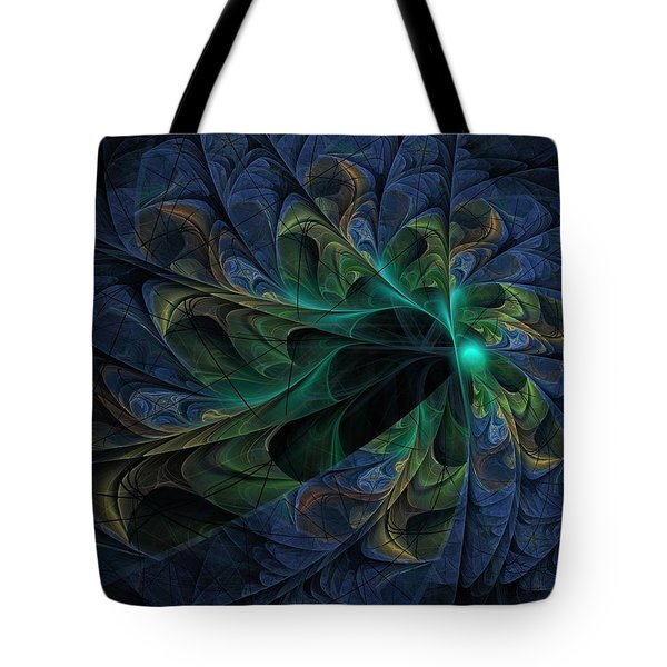 Tote Bag featuring the digital art What Is Given Here by NirvanaBlues