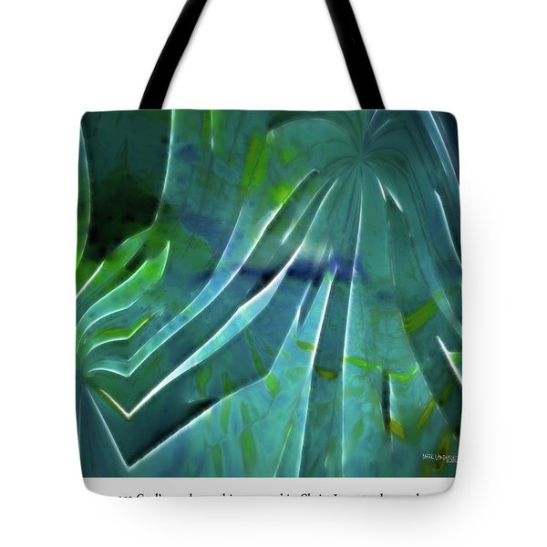 What We Are. Christian Poster Art Tote Bag by Mark Lawrence